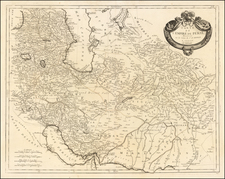 Carte de L'Empire De Perse . . . 1779 By Paolo Santini / Giovanni Antonio Remondini