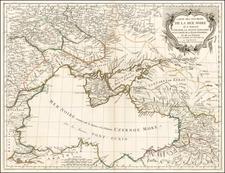 Ukraine, Romania, Balkans and Central Asia & Caucasus Map By Paolo Santini