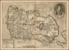 Ireland Map By Matthias Quad