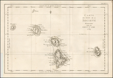 Other Pacific Islands Map By James Cook