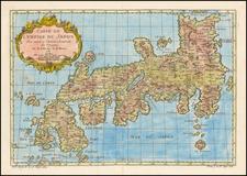 Carte De L'Empire Du Japon . . . 1752 By Jacques Nicolas Bellin