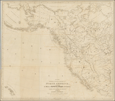 Midwest, Southwest, Rocky Mountains, Alaska, Caribbean and Canada Map By Robert Greenhow