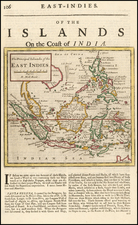 Southeast Asia and Philippines Map By Herman Moll