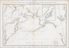 Polar Maps, Alaska, Pacific and Russia in Asia Map By Alexander Wilbrecht