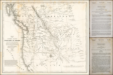 Rocky Mountains, Oregon and Washington Map By Washington Hood