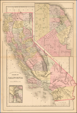 California Map By Asher / Adams