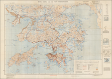 China Map By Geographical Section, War Office (UK)