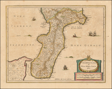 Southern Italy Map By Jan Jansson