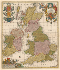 British Isles Map By Tobias Conrad Lotter
