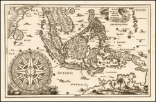 Southeast Asia, Philippines and Australia Map By Heinrich Scherer