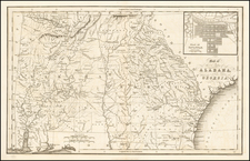 South and Southeast Map By Hinton, Simpkin & Marshall