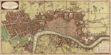 British Isles and London Map By John Wallis