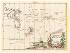 Australia & Oceania, Pacific, Australia, Oceania and New Zealand Map By Antonio Zatta