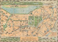 New England Map By Richard F. Lufkin