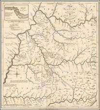 South, Kentucky and Midwest Map By John Filson
