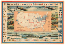 United States Map By Hammond & Co.