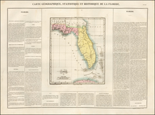 Florida Map By Jean Alexandre Buchon