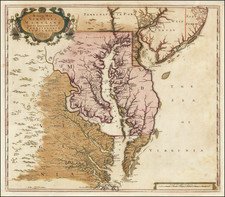 Mid-Atlantic, Maryland, Delaware, Southeast and Virginia Map By Christopher Browne