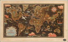 World and World Map By Lucien Boucher
