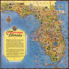 Florida Map By George  Way