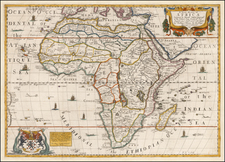 A New Mapp of Africa . . . 1669 By Richard Blome