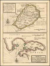 African Islands, including Madagascar Map By Herman Moll