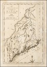 New England and Maine Map By John Reid