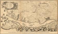 Spain and Balearic Islands Map By Paul de Rapin de Thoyras / Nicholas Tindal