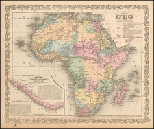 Africa and Africa Map By Charles Desilver