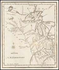 Midwest, Illinois, Indiana, Michigan, Minnesota, Wisconsin and Plains Map By Joseph Scott