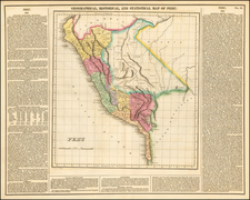 South America and Peru & Ecuador Map By Henry Charles Carey  &  Isaac Lea