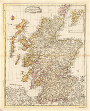 Scotland Map By Leonard Von Euler