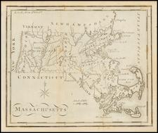 Massachusetts and Southeast Map By Joseph Scott
