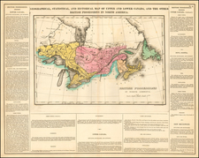 Midwest and Canada Map By Henry Charles Carey  &  Isaac Lea