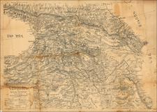 Central Asia & Caucasus Map By Antranig Patrikian
