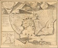 Sud et Alpes Française Map By Paul de Rapin de Thoyras