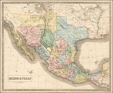 South, Texas, Plains, Southwest, Rocky Mountains and California Map By George Philip & Son