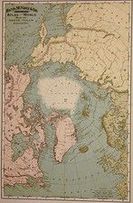 World and Polar Maps Map By William Rand  &  Andrew McNally