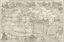 World Map By Sebastian Munster - Simon Grynaeus