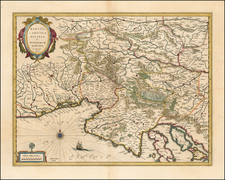 Balkans and Croatia & Slovenia Map By Willem Janszoon Blaeu