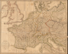 Europe, Europe and France Map By Jean Baptiste Poirson