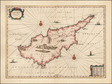 Cyprus Map By Jan Jansson