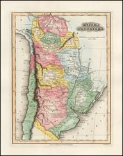 South America Map By Fielding Lucas Jr.