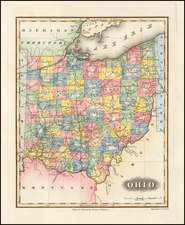 Midwest and Ohio Map By Fielding Lucas Jr.