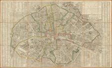 France and Paris and Île-de-France Map By Jacques Esnauts