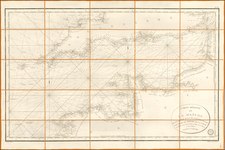 France Map By Depot de la Marine