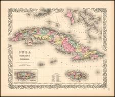 Cuba, Jamaica and Porto Rico By Joseph Hutchins Colton