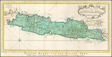 Indonesia Map By J.V. Schley