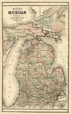 Midwest Map By H.R. Page  &  Co.