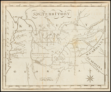 South and Southeast Map By Joseph Scott
